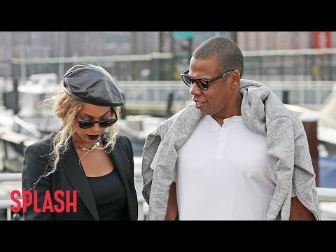 Beyoncé and Jay Z Bring Twins to Malibu Mansion | Splash News TV