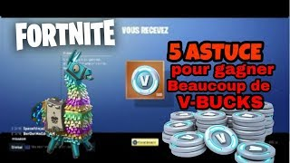 5 ASTUCES how to have a lot of V-BUCKS thanks to fortnite save the world
