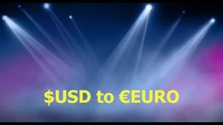 How to convert USD to EURO in Your Perfect money Account