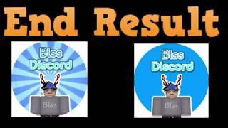 Blss Discord Logo Contest (Roblox GFX Speed Paint)