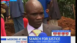 Download Video Family in Kisii seek justice after their 15-year old son was electrocuted in school MP3 3GP MP4