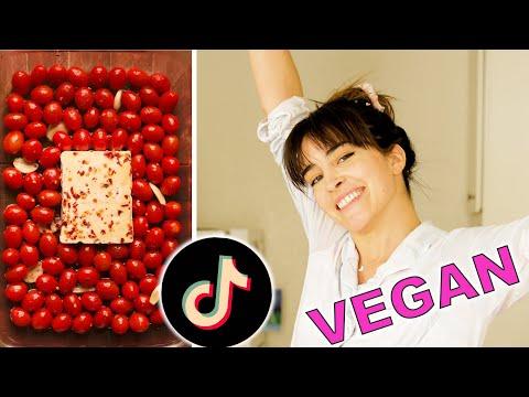 I Made The Viral Baked Feta Pasta VEGAN | TikTok Recipe