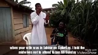 Ye ma Sun Gba Ko Je  Comedy Skit by Alfa Sule Ayo Ajewole aka WOLI AGBA