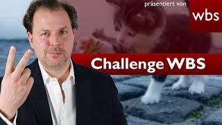 Tiere bald rechtlich keine Sachen mehr? - Gesetzesänderung realistisch? | Challenge WBS