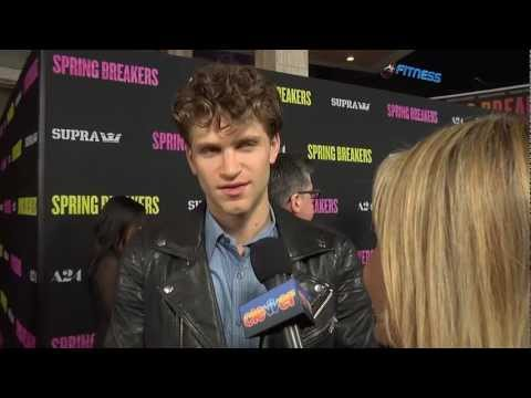 Keegan Allen Interview - 'Spring Breakers' Premiere