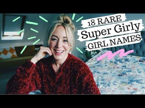 18 Rare SUPER GIRLY Baby Names   SJ STRUM