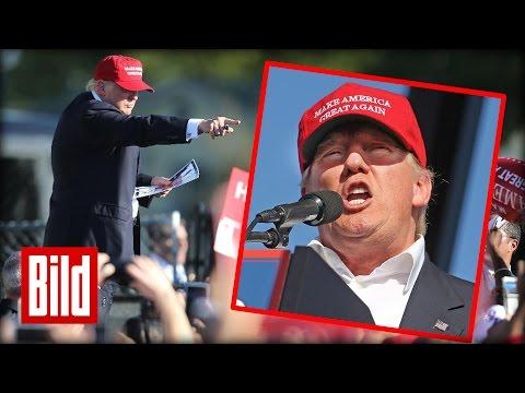 Trump-Auftritt in Miami - BILD-Reporter fand es schaurig