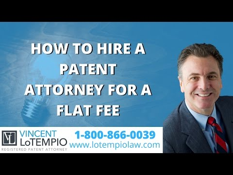 Hire a Patent Attorney at flat rate