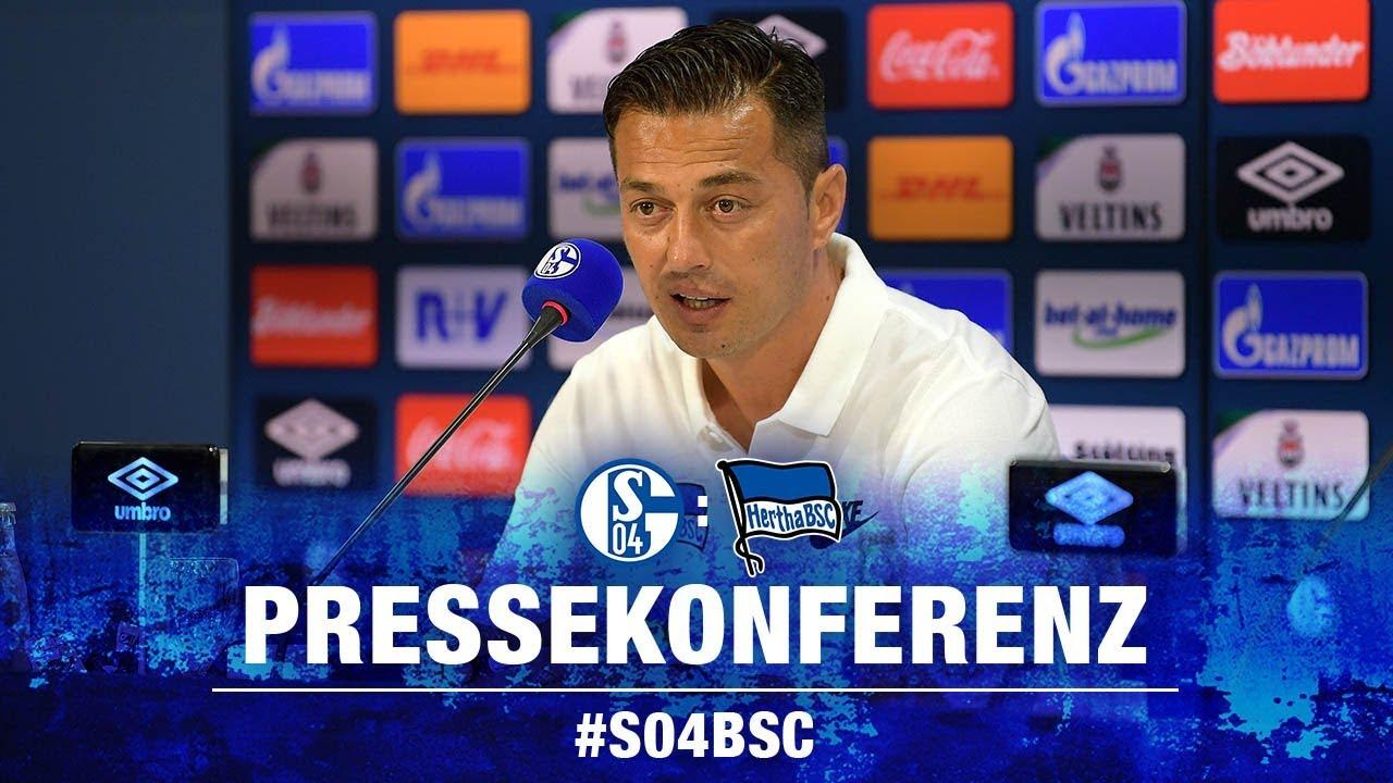 PK nach Schalke 04 - Bundesliga - 3. Spieltag - Hertha BSC