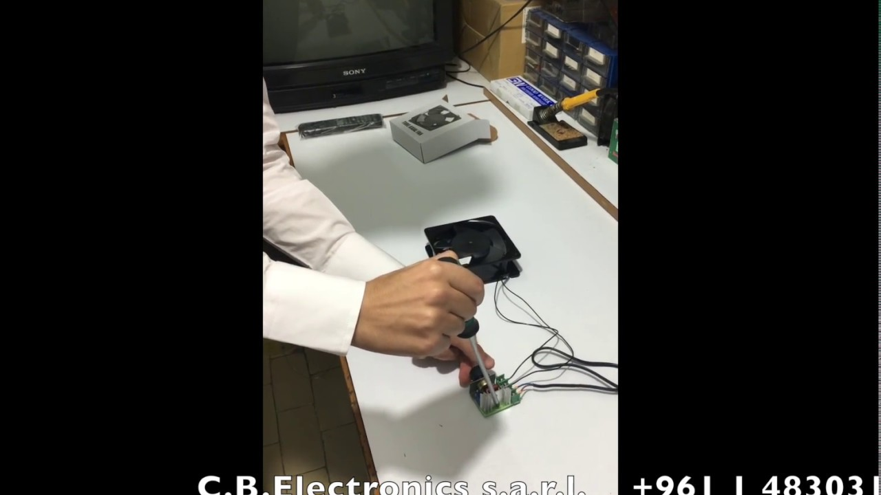 How To Implement Scr 2000w 220v Ac Electric Voltage Regulator Motor Wiring Speed Controller