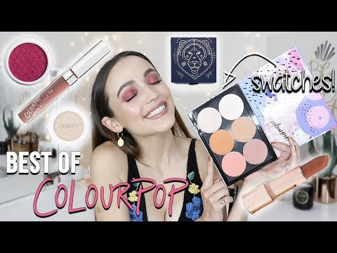 BEST COLOURPOP MAKEUP 2019 - ALL THE Must Haves + My NEW BLUSHES!!!