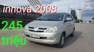 Chỉ 245tr có ngay Toyota innova 2008 | xe 7 chỗ tốt nhất cho bác nào cần chạy dịch vụ