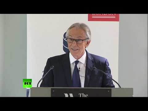 LIVE: Tony Blair gives a speech called: 'Progressive politics in an era of populism'