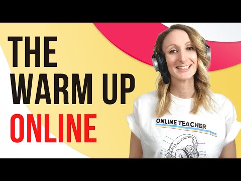 ESL Warm Up For Young Learners