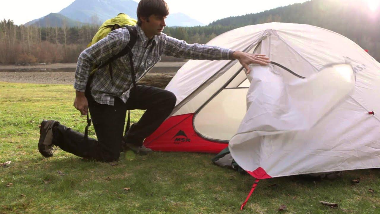 & MSR Tents: Elixir 2 Overview - YouTube