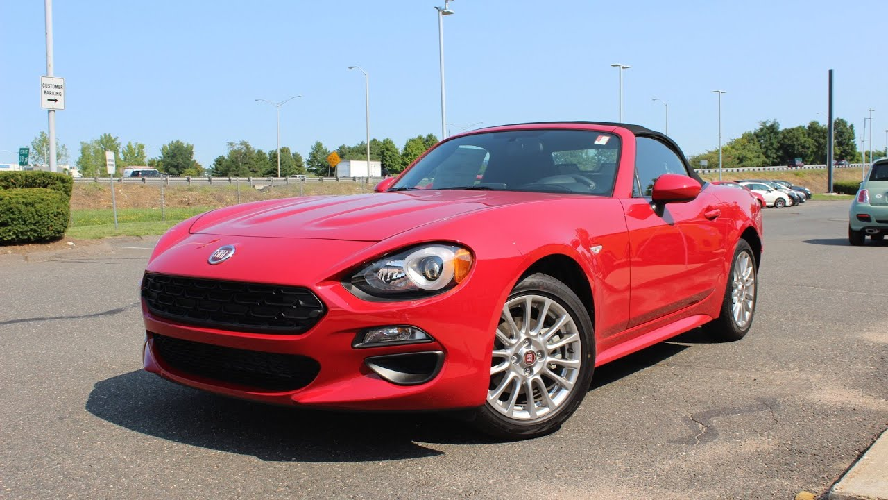 2017 Fiat 124 Spider Classica: In Depth First Person Review