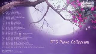 BTS Piano Collection for Studying and Sleeping