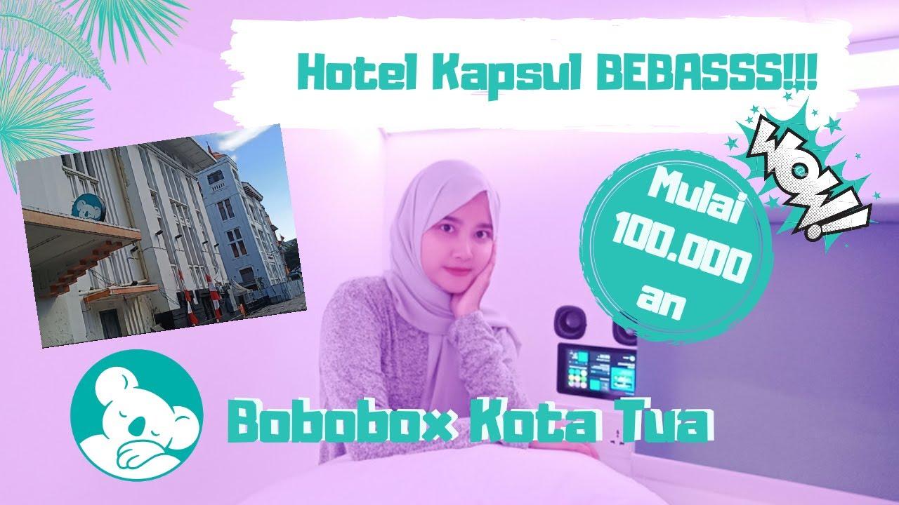 COBAIN HOTEL KAPSUL DI JAKARTA 100 RIBUAN AUTO ENA!   BOBOBOX #hotelkapsul #bobobox