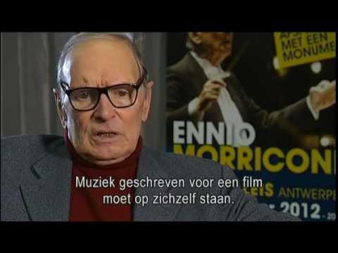 Ennio Morricone - VRT interview - Concert in Sportpaleis Antwerpen op 22 december 2012