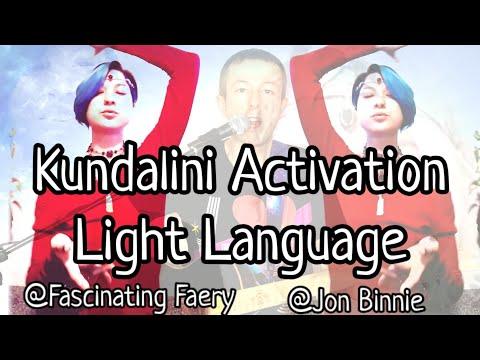 Kundalini Fire Intergalactic Light Language Activation Music 💞🧚♀️ Fascinating Faery & Jon B 432hz