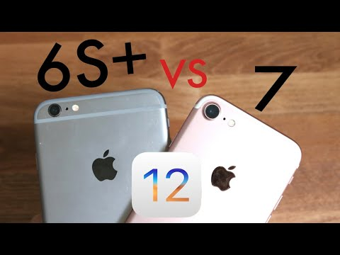iPHONE 6S PLUS Vs iPHONE 7 On iOS 12! (Speed Comparison) (Review)