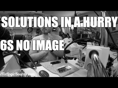 iPhone 6S No Image - Solutions in a hurry