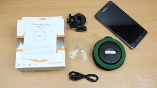 Andoer Portable 5W Wireless Bluetooth Speaker (Water-resistant, Shockproof, Dustproof ) Review
