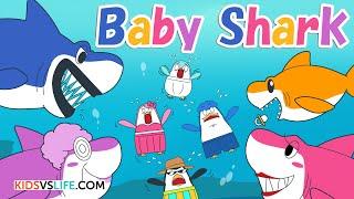 Baby Shark | Animal Songs | Kids vs Life Songs for Children