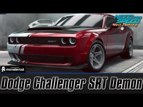 Need For Speed No Limits: Dodge Challenger SRT Demon (Customization + MAXXED OUT)
