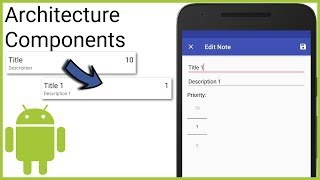 Room + ViewModel + LiveData + RecyclerView (MVVM) Part 9 - EDIT NOTES ON ITEM CLICK  - Android