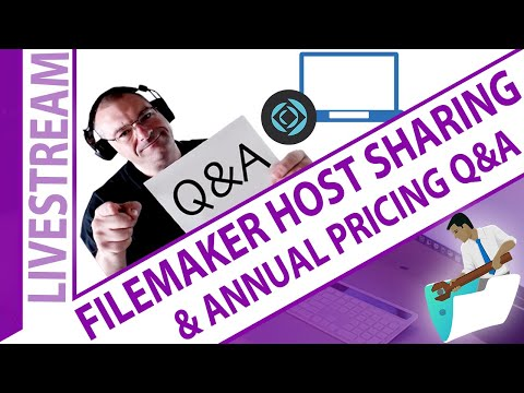 FileMaker Shared Hosting and Annual Pricing Questions