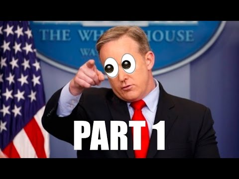 Thumbnail: Sean Spicer Best Moments - Compilation (part 1/2)