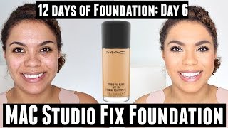 One of Samantha Jane's most viewed videos: MAC Studio Fix Fluid Foundation Review (Oily Skin) | 12 Days of Foundation Day 6