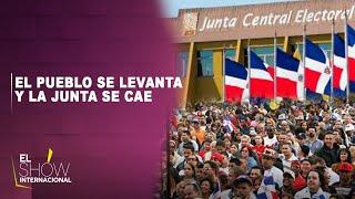 El pueblo se levanta y la junta se cae   El Show Internacional