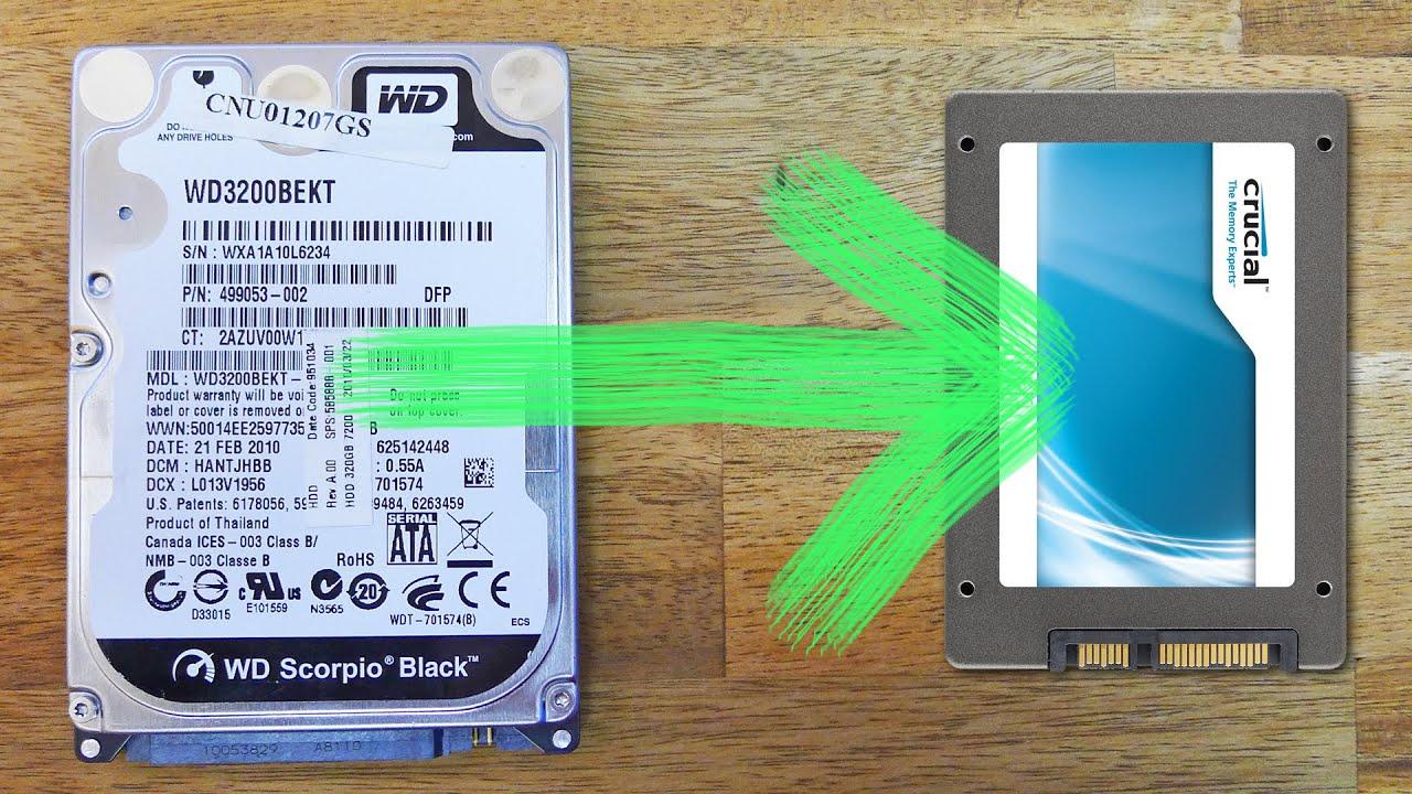 Windows auf SSD klonen, HDD kopieren ganz einfach erklärt