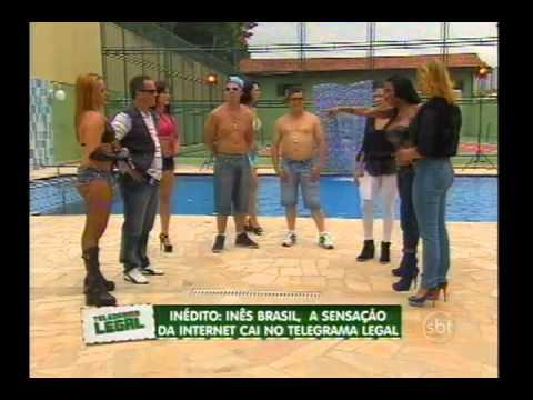 Inês Brasil é a vítima do Telegrama Legal