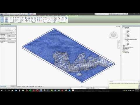 Google Earth to Revit Topography with texture material