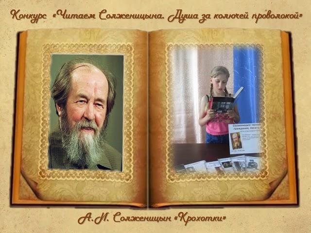 Изображение предпросмотра прочтения – ОксанаАлонова читает произведение «Крохотки.Шарик» А.И.Солженицына