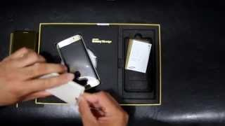 Samsung Galaxy S6 Edge Platinum Gold 128GB LIMITED EDITION