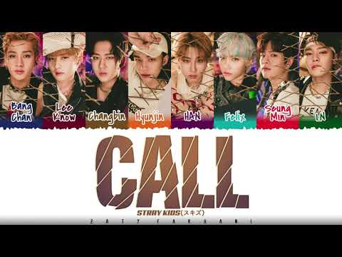 Download STRAY KIDS - 'CALL' Lyrics [Color Coded_Kan_Rom_Eng]