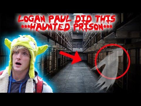 LOGAN PAUL DID THIS TO ME! **HAUNTED ABANDONED PRISON** | MOE SARGI