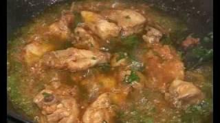 """ Karahi Chicken Ii "" Bajias Cooking"