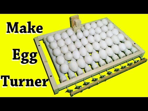 How to make Automatic Egg Turner for incubator  - Egg turner - automatic egg turner - egg roller