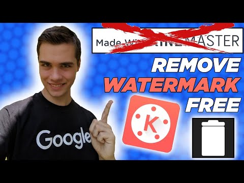 How To Remove Watermark In Kinemaster For Free 2020