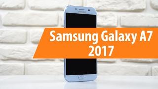Распаковка Samsung Galaxy A7 2017 / Unboxing Samsung Galaxy A7 2017