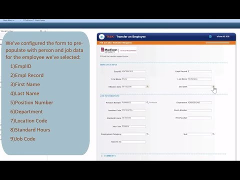 Quick Eforms For Peoplesoft Live  Macewan University Employee
