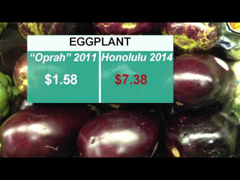 Food Prices Soaring in Hawaii