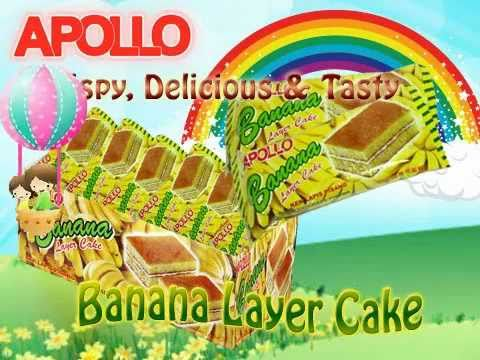 Online Shopping & Export for Apollo Banana Layer Cake 3050
