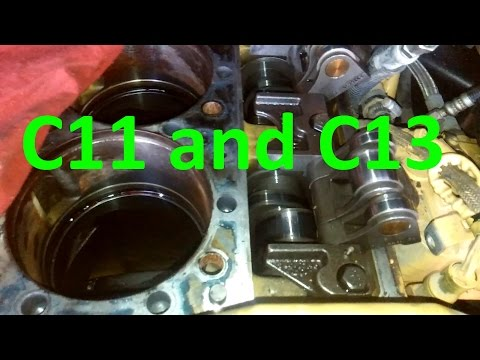 Cat C13 and C11 Engines.  Facts, Walk Around, Sensor Locations, and Maintenance.  Know Your Engine.