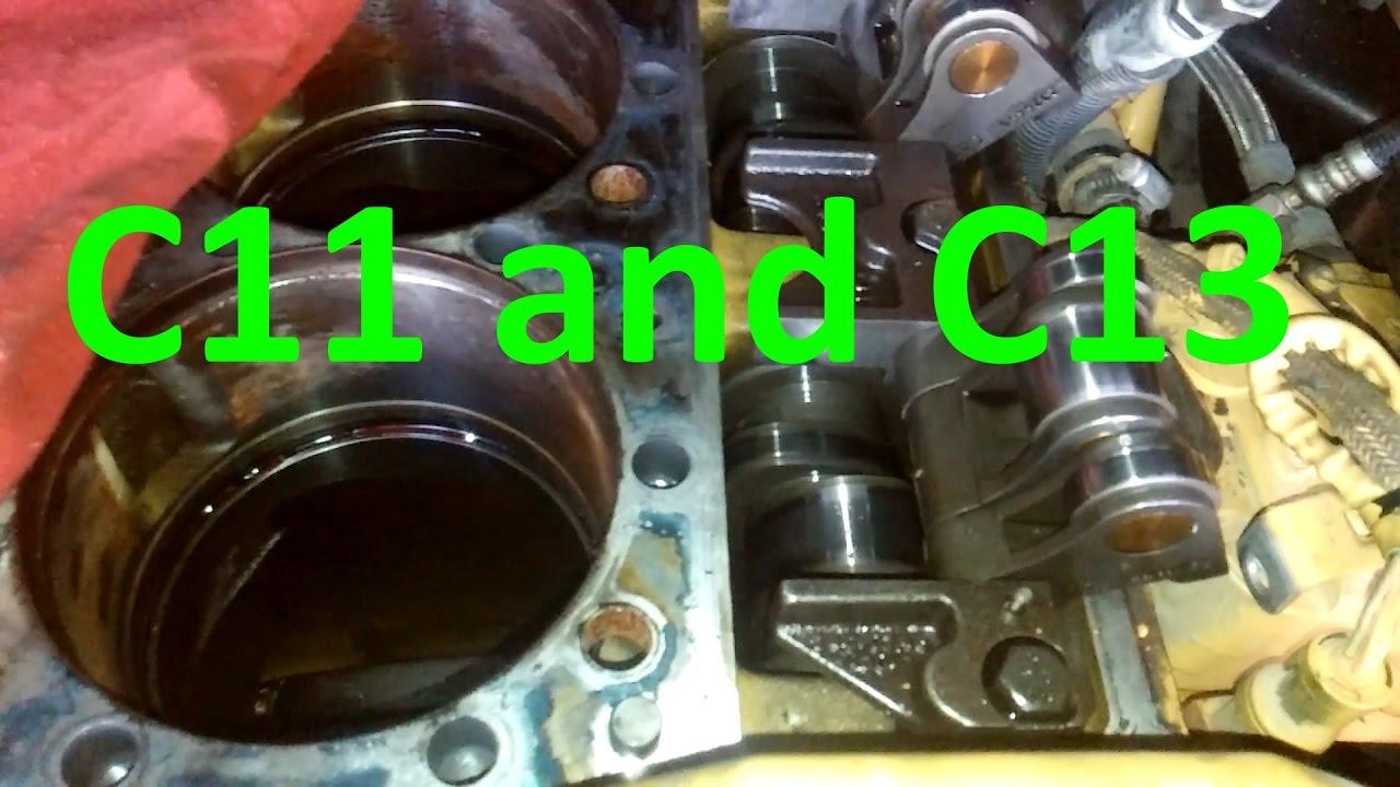 Cat C13 and C11 Engines Facts, Walk Around, Sensor